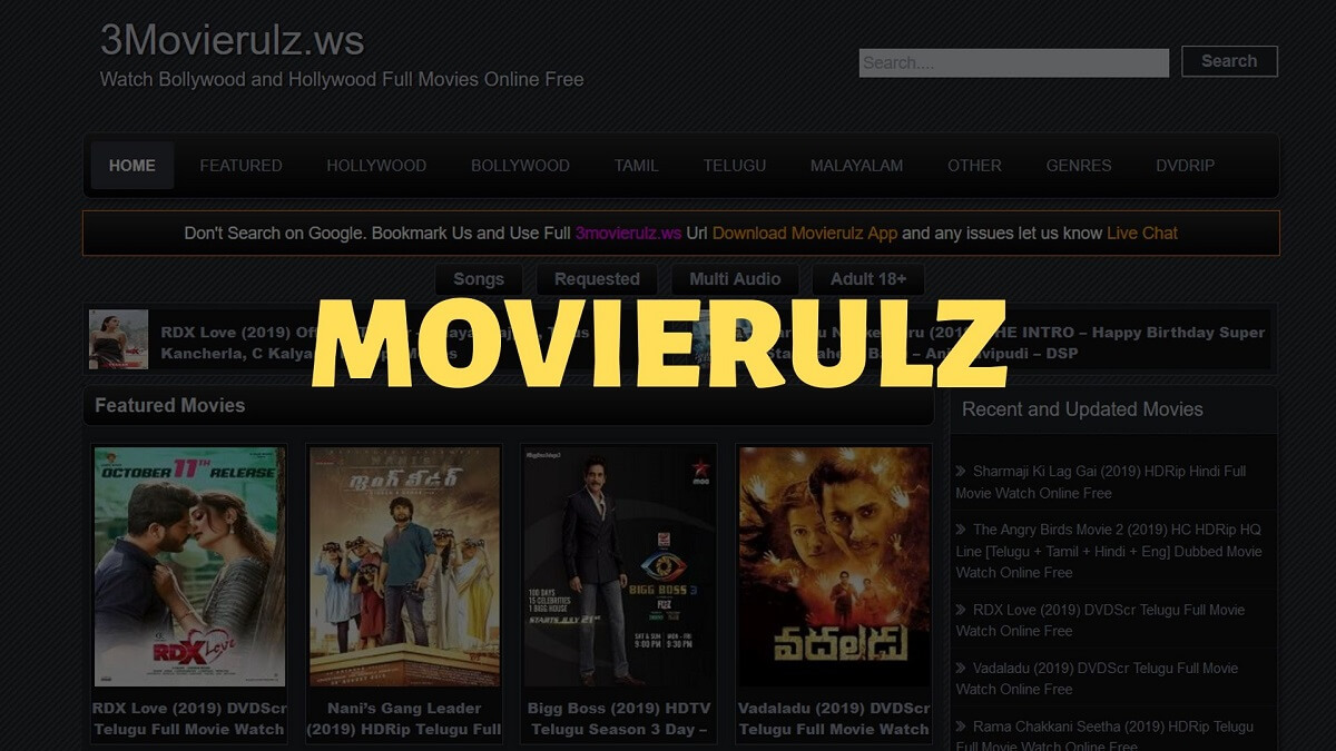 Movierulz-website