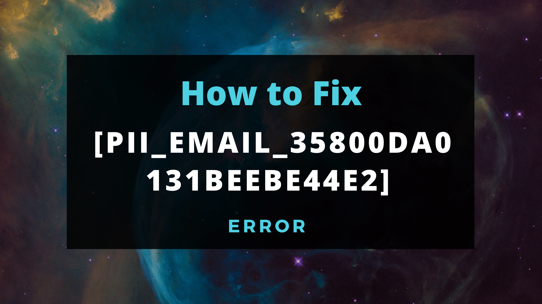 Fix error [pii_email_35800da0131beebe44e2]